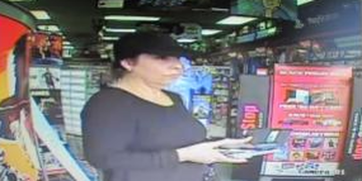 Woman uses stolen credit cards at Vicksburg Gamestop