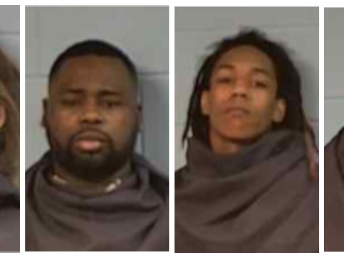 Vicksburg Police make arrests for possession of controlled substances, felony shoplifting, stolen firearm