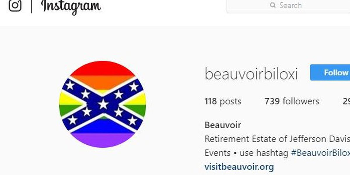 Beauvoir's Instagram page hacked with pride flag, Bernie Sanders image