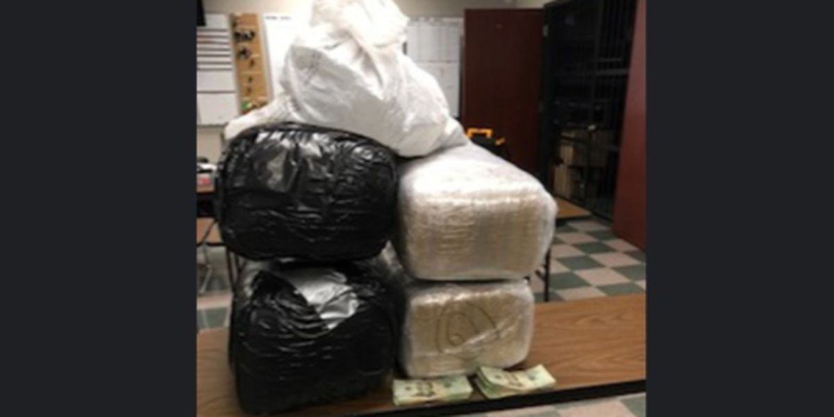103 pounds of marijuana seized during Madison traffic stop