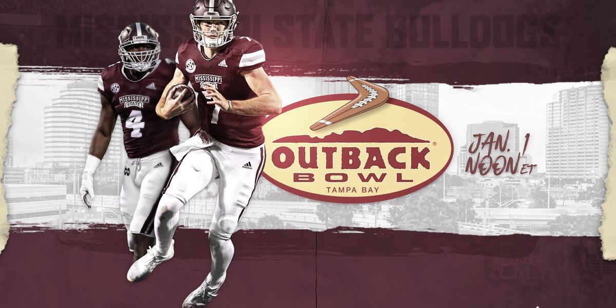 Mississippi State faces Iowa in Outback Bowl
