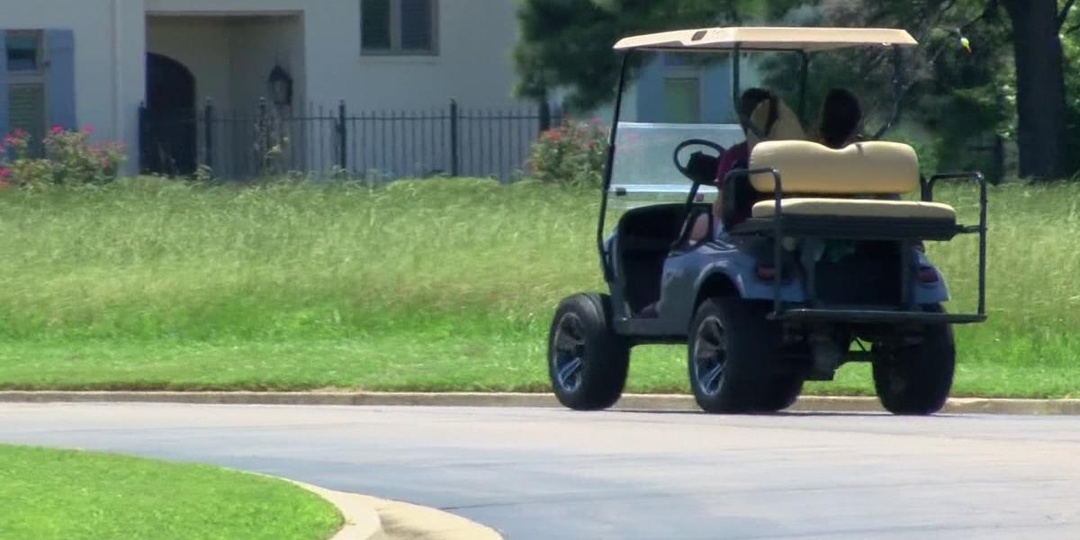 Deputies will patrol neighborhoods to curb golf carts on streets, Madison Co. sheriff says