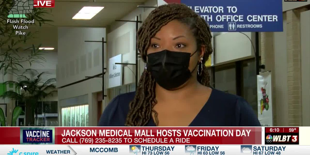 Jackson Medical Mall hosts mass vaccination event Thurs.