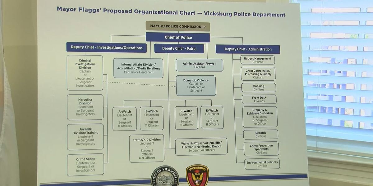Vicksburg's mayor outlines proposed plan to tackle crime in the city
