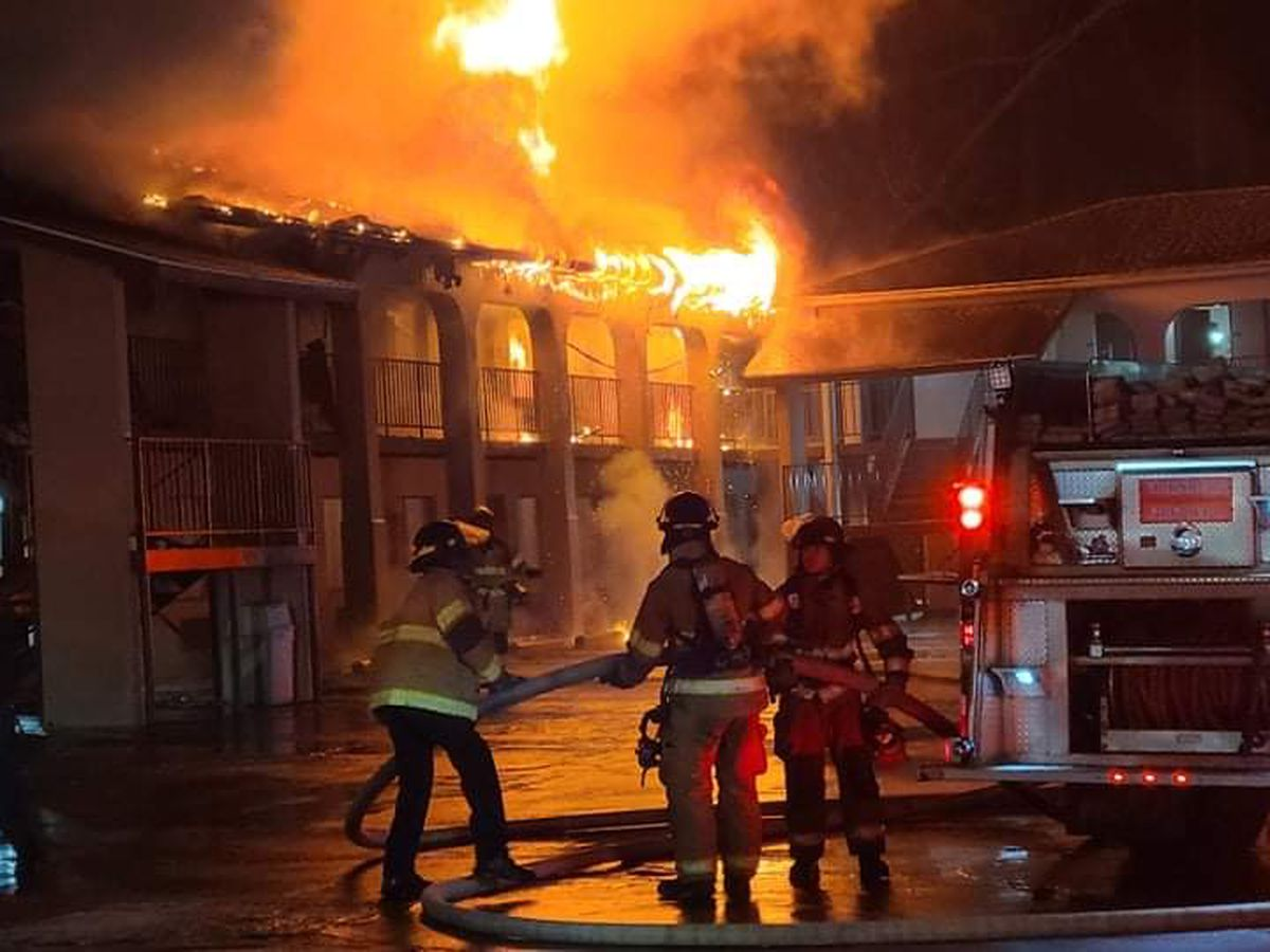 Space heater to blame for Vicksburg hotel fire