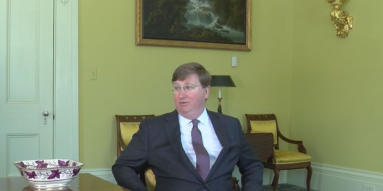 Governor Tate Reeves discusses year two in the fight against COVID-19