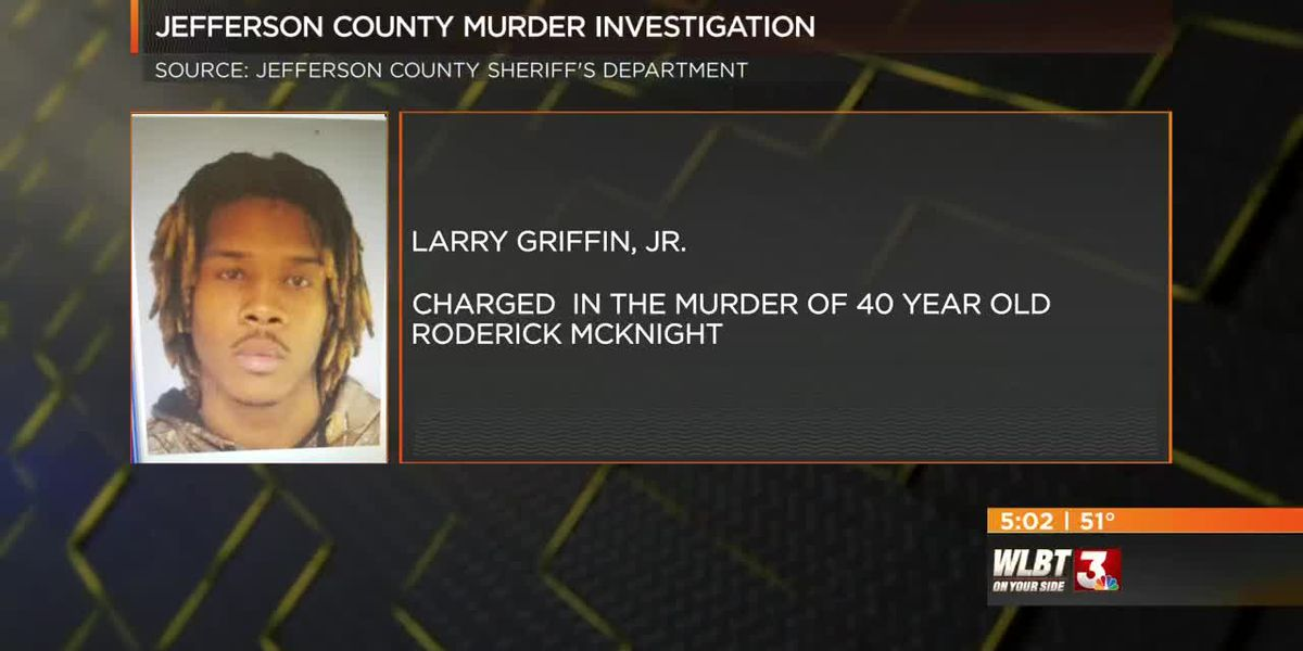 Jefferson Co. arrest for murder of Roderick McKnight