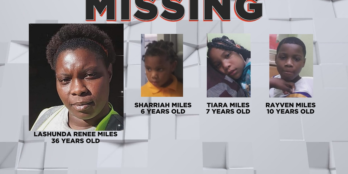3 children found after being reported missing; Mother still wanted by police
