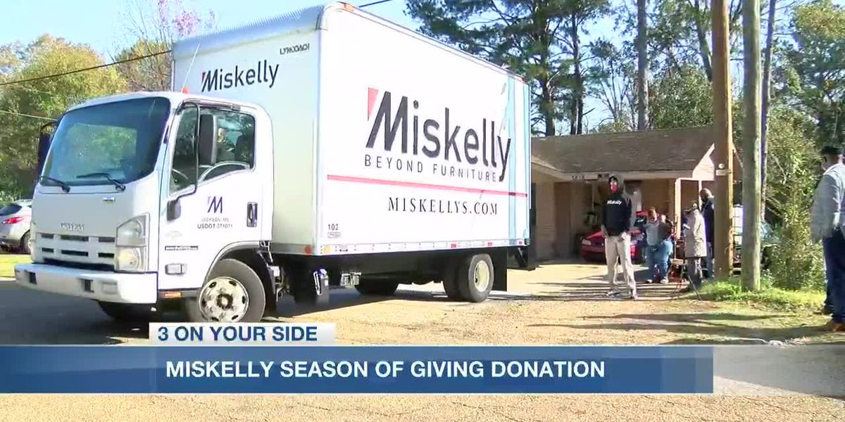 Miskelly Season of Giving Campaign: Jackson man's generosity leads to another blessing for a family