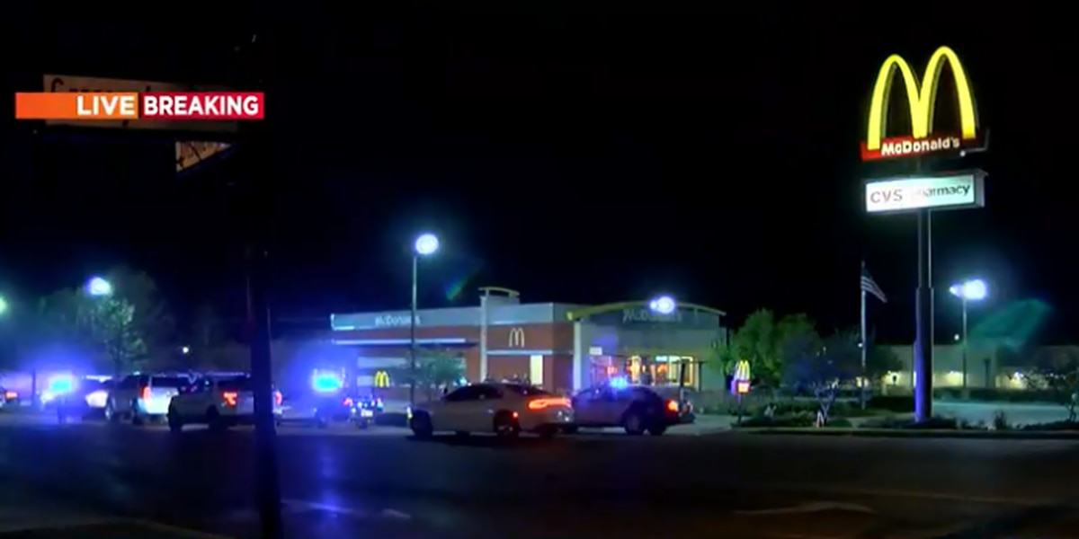 Heavy police presence responds to McDonald's in Brandon