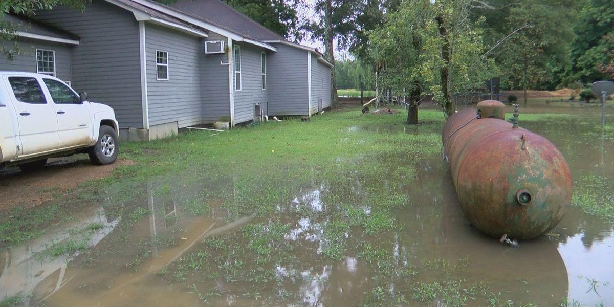 Backwater battle intensifies as Barry dumps rain in Holly Bluff Community