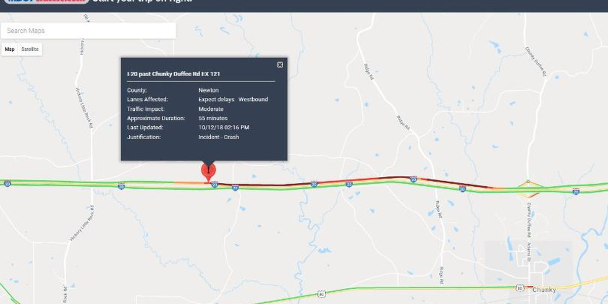 One dead, one injured in I-20 accident involving motorcycle