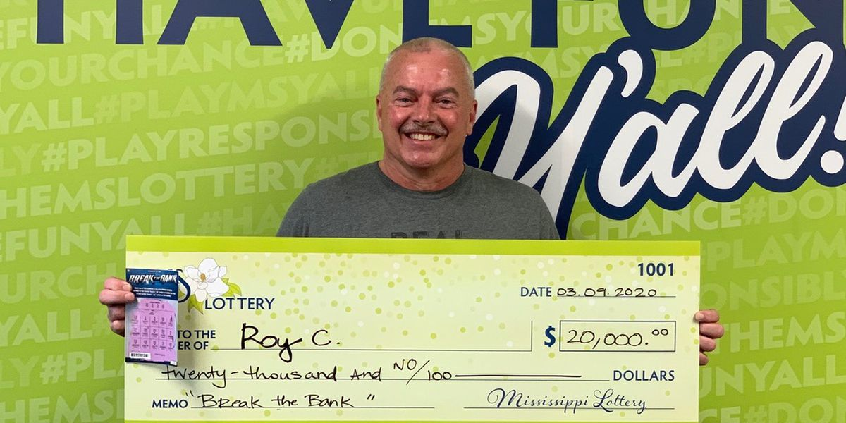 Brookhaven truck driver is $20k richer after winning lottery ticket