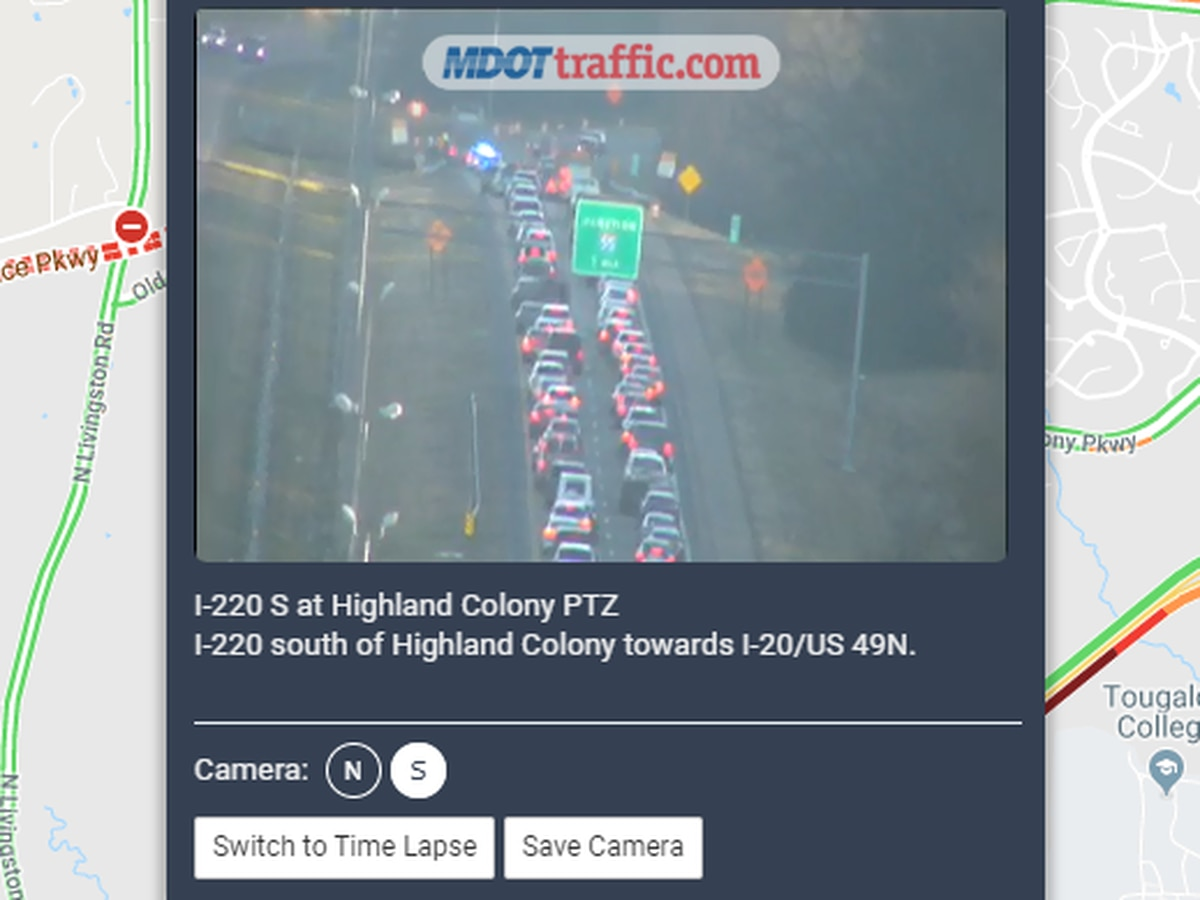 Crash at I-220 in Madison cleared