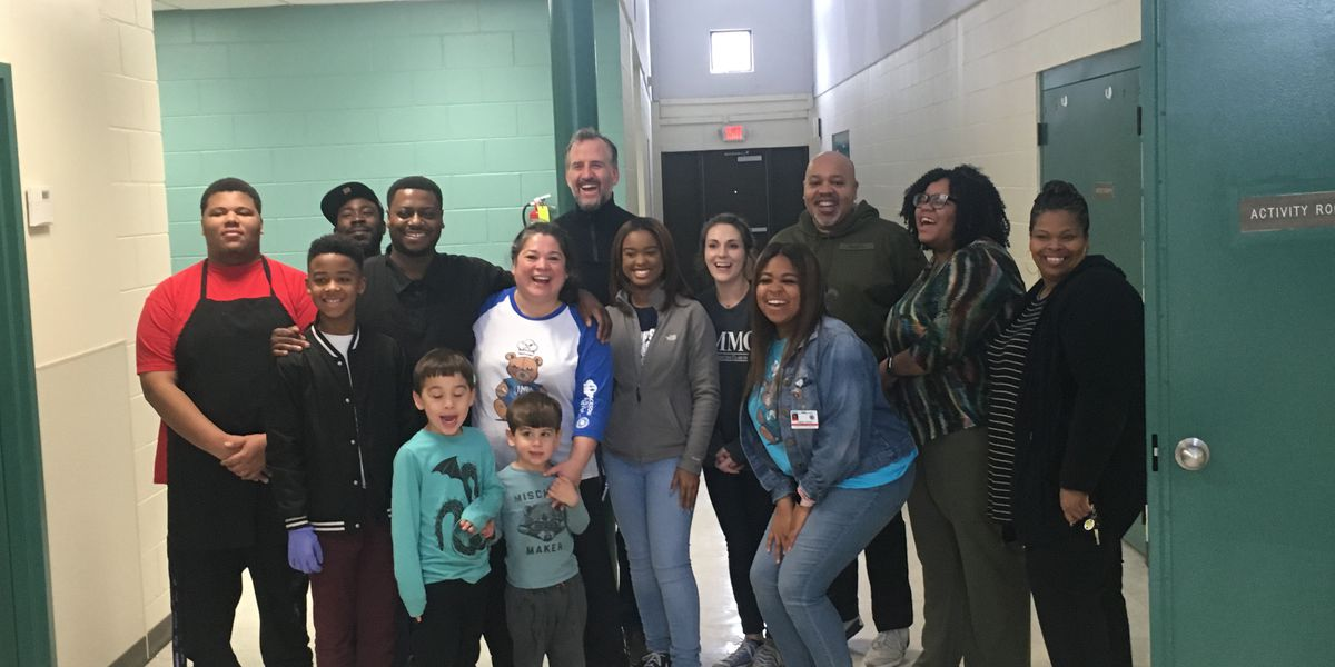 Local chefs prepare meals to feed JPS students over the Christmas break