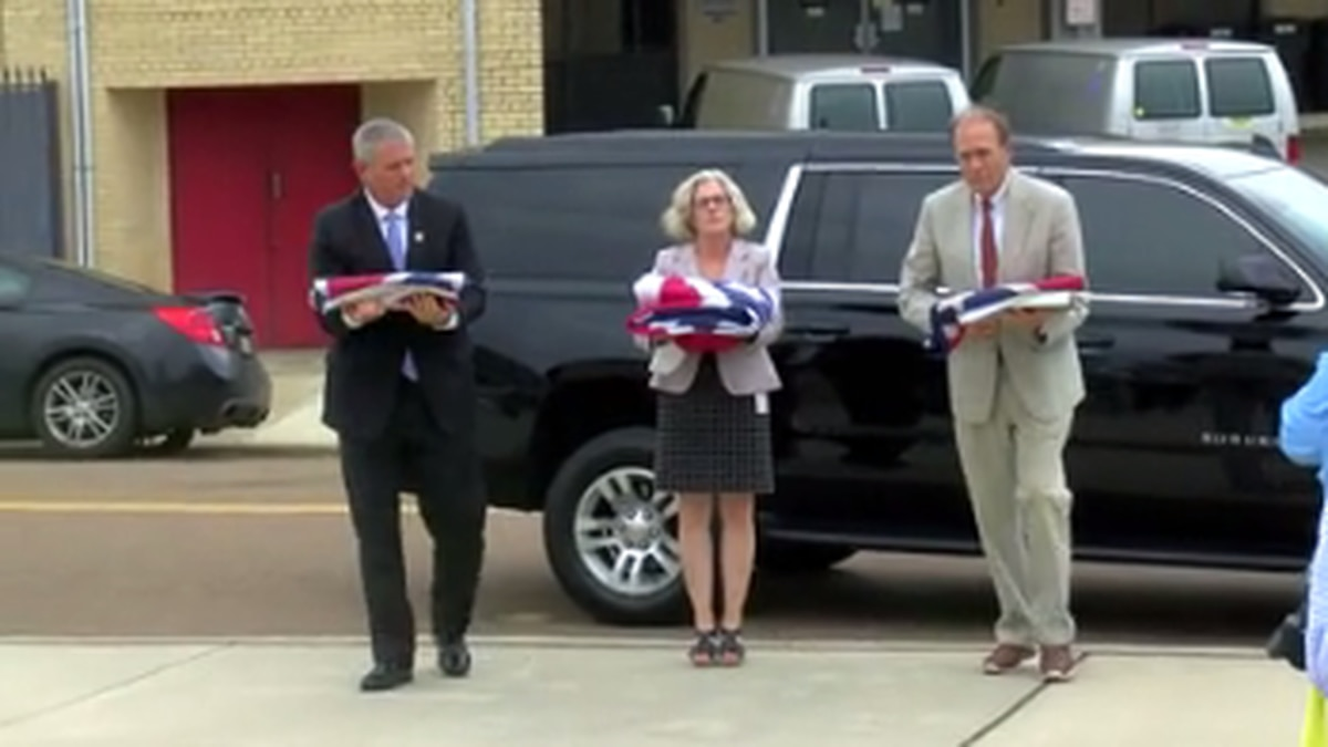 State flags moved to Museum of Mississippi History