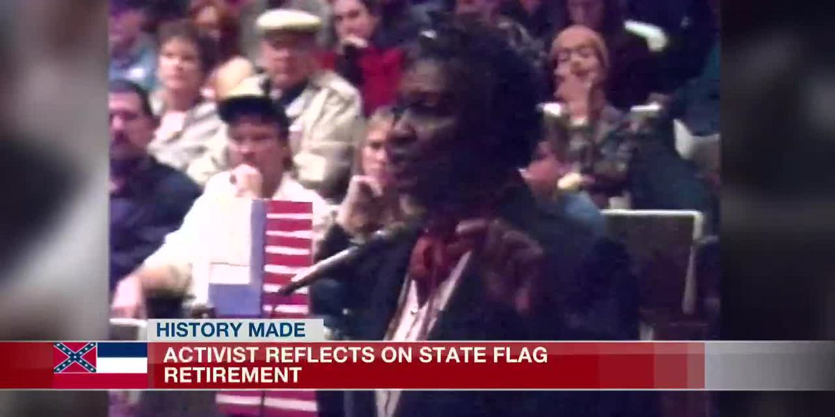 Advocate for change reflects on retiring of the state flag