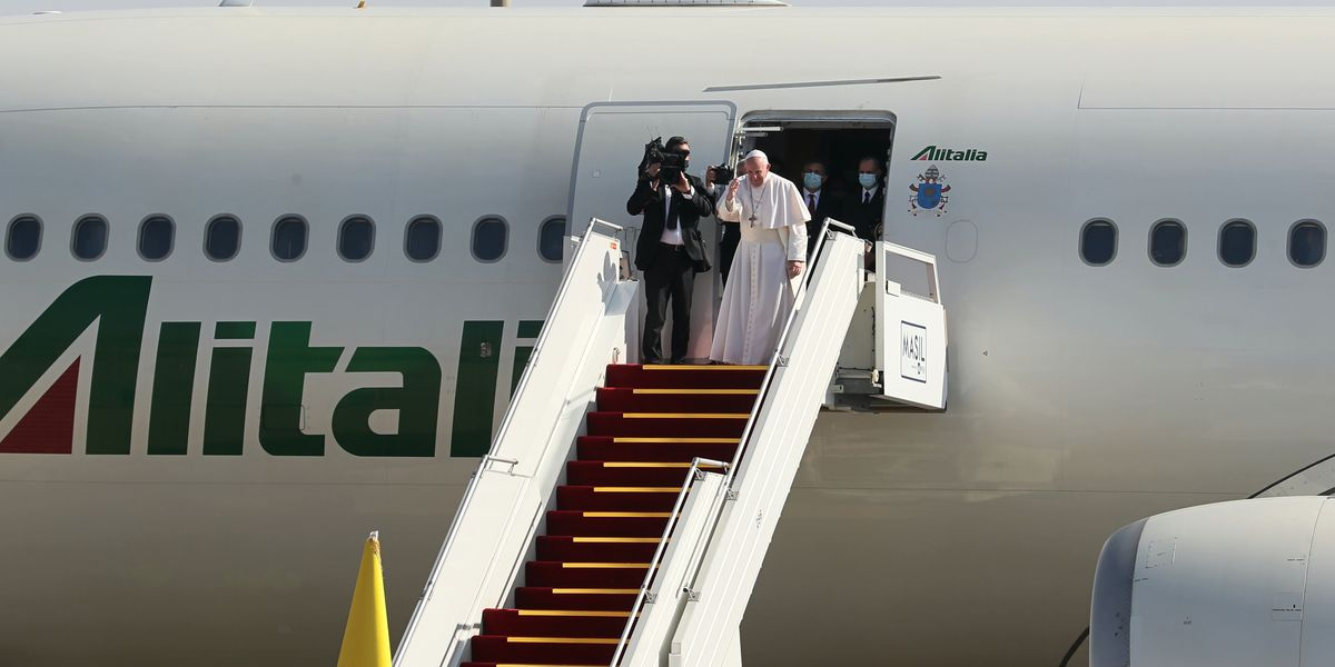 After historic whirlwind visit, Pope leaves Iraq for Rome