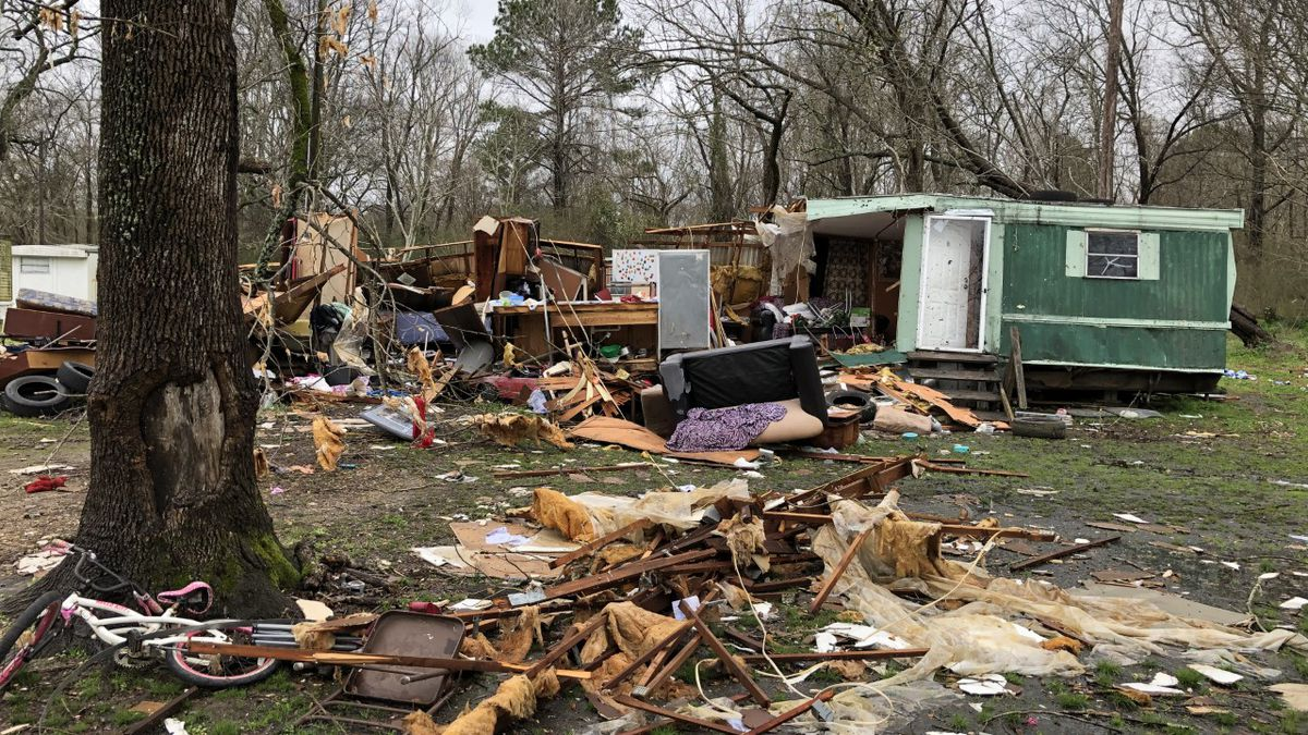 NWS confirms EF-1 tornado touched down in Yazoo County