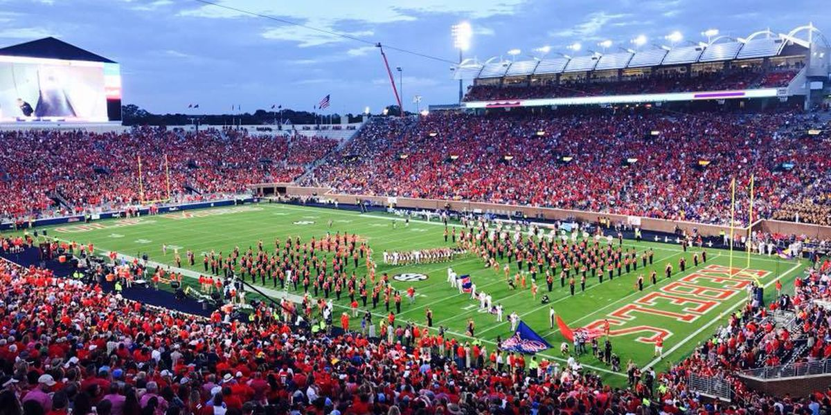 Ole Miss adding eight student party decks for football