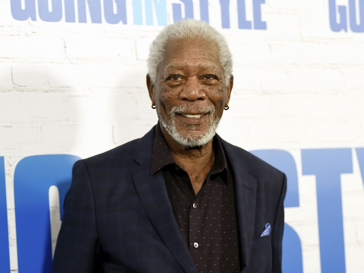 Morgan Freeman: 'If you trust me, you'll get the vaccine'