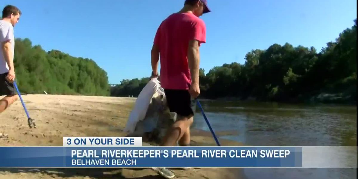3rd annual Pearl Riverkeeper's Pearl River Clean Sweep!