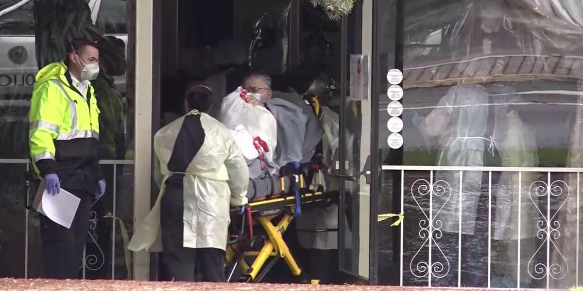 83 residents at Calif. nursing home hit by coronavirus evacuated after staff fails to show for work