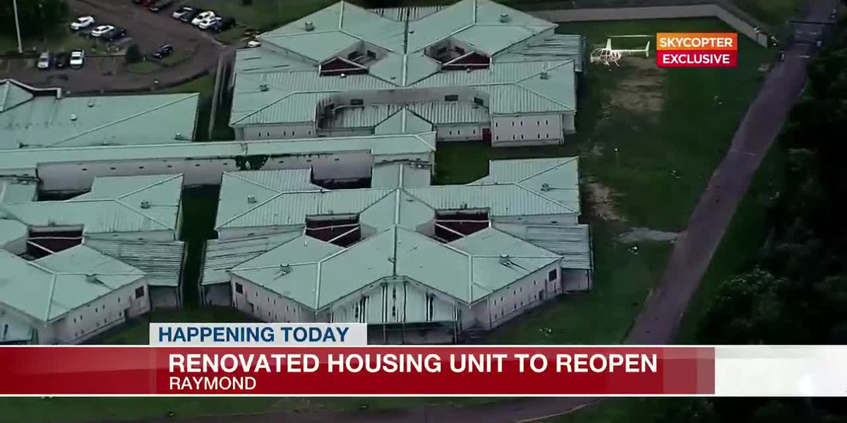 Renovated housing unit to reopen at Hinds County Detention Center