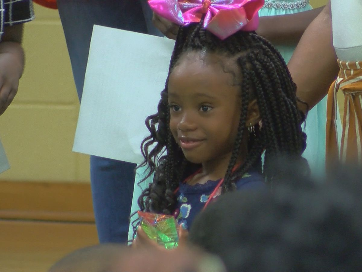 Kindergartner receives Kingston Frazier Courage Award