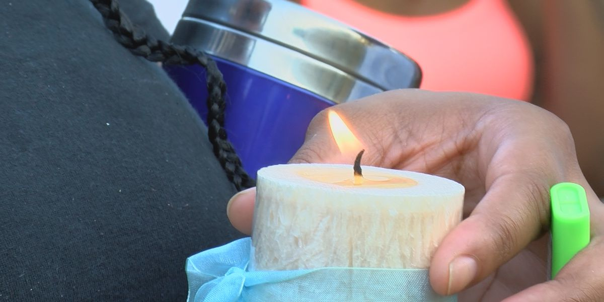 Prayer vigil held for 11 year old killed while sleeping in bed