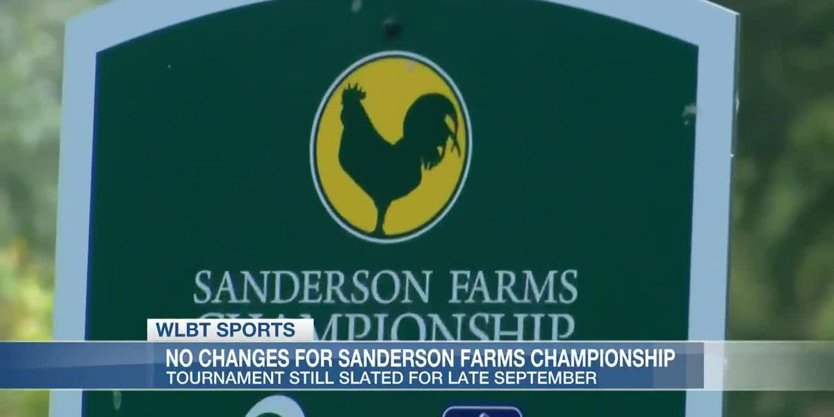 No changes planned for 2020 Sanderson Farms Championship