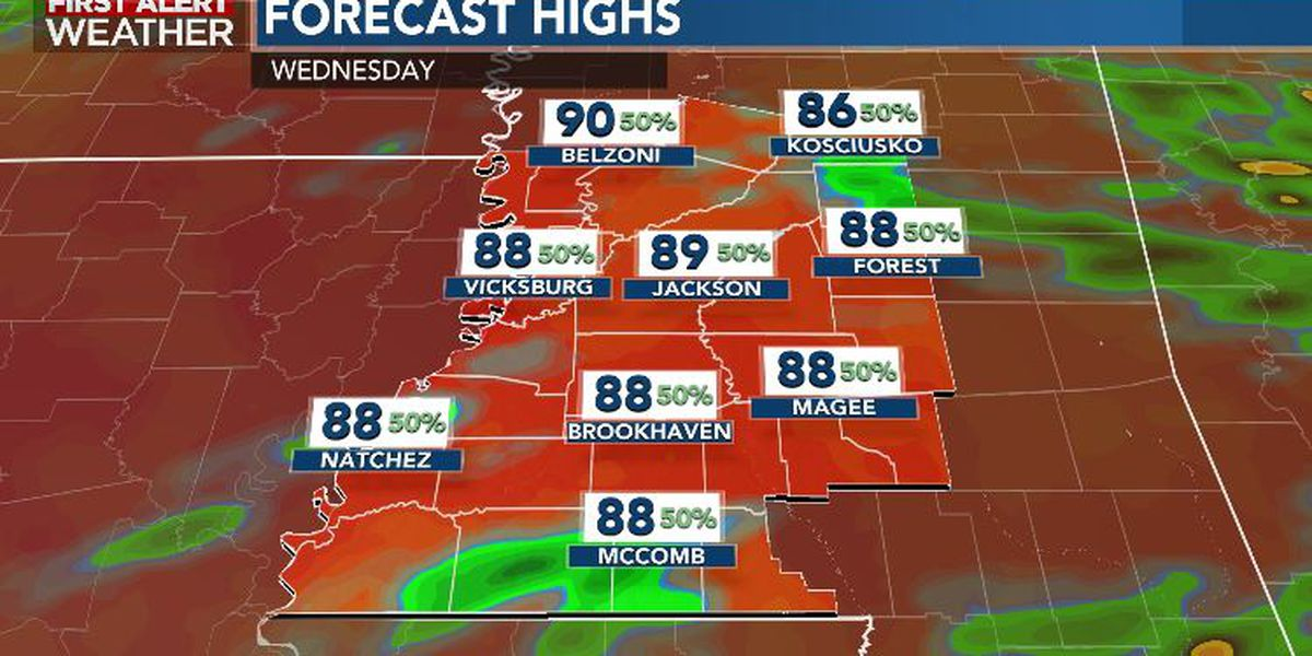 First Alert Forecast: summery downpour potential continues