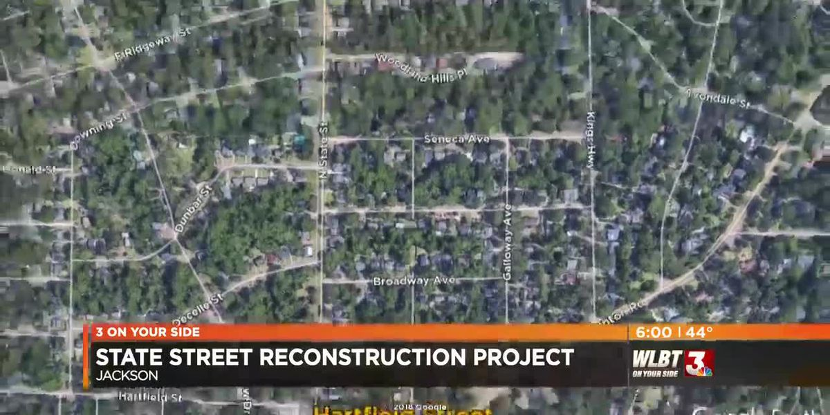 State Street reconstruction continues