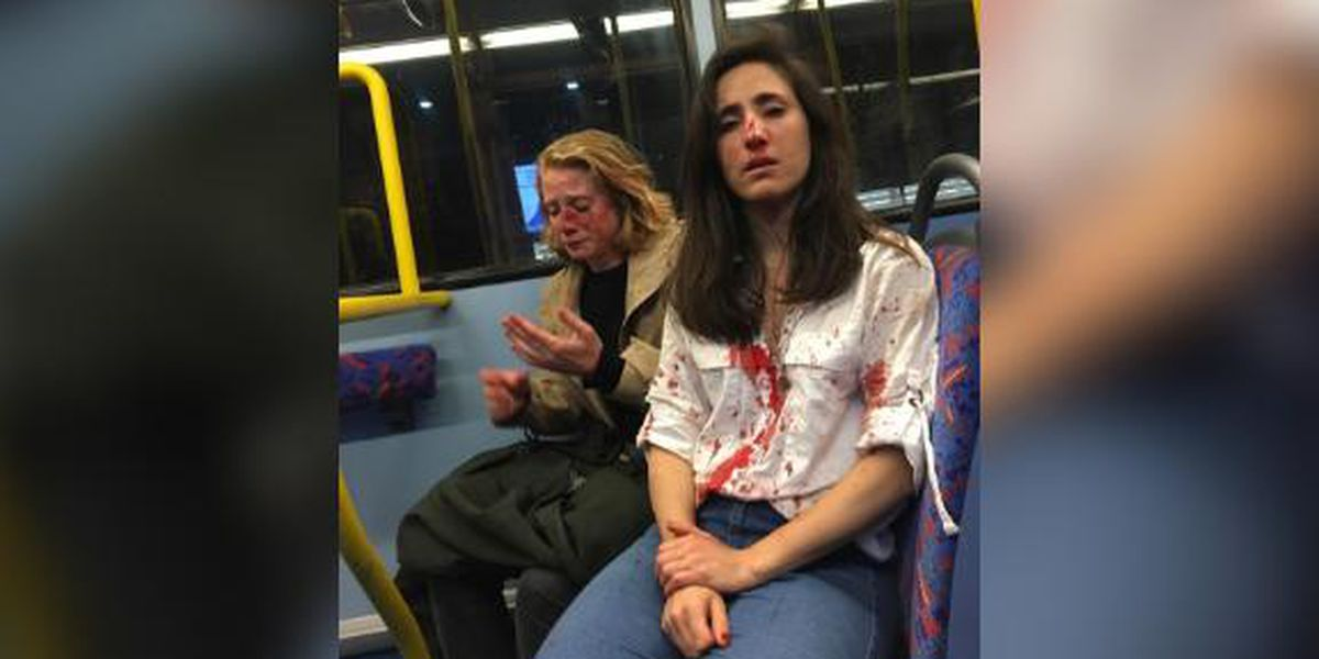Lesbian couple attacked on London bus for refusing to kiss