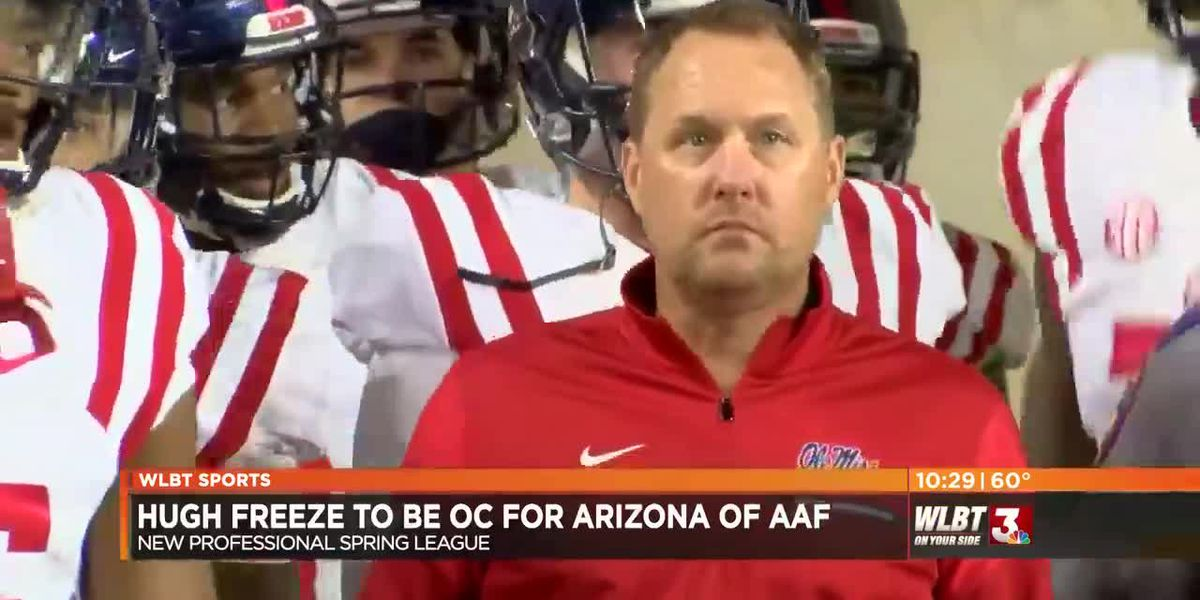 VIDEO: Hugh Freeze joins coaching staff of new pro spring league
