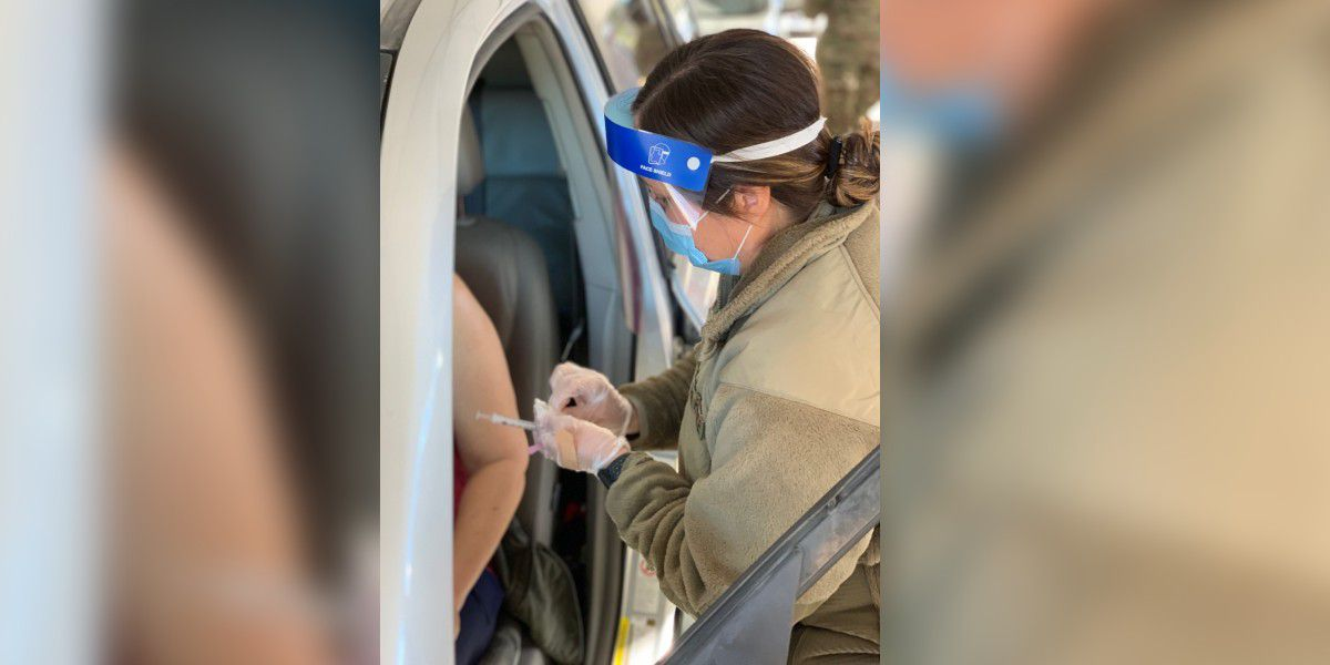 First drive-thru vaccine site now open in Jackson