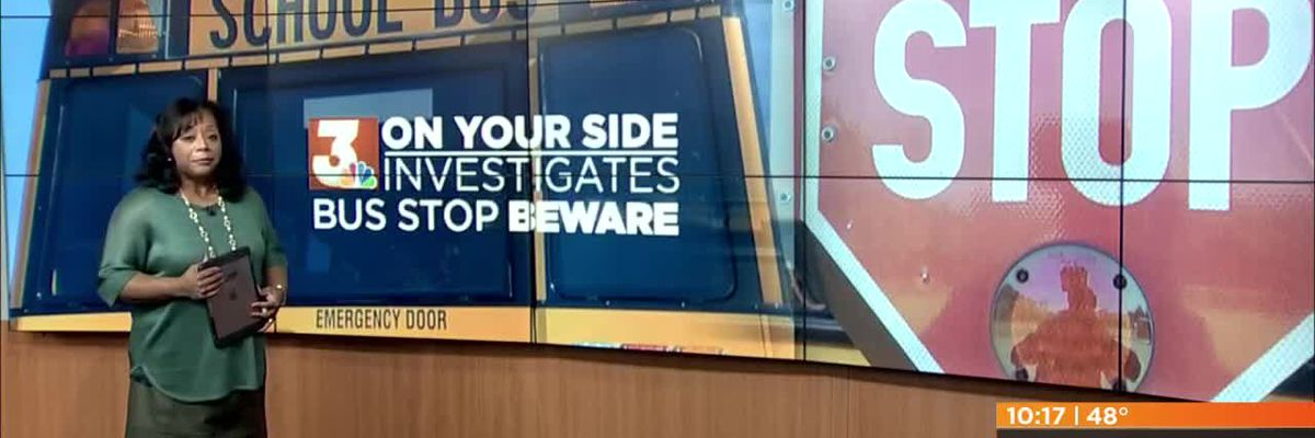VIDEO: 3 On Your Side Investigates: Bus Stop Beware
