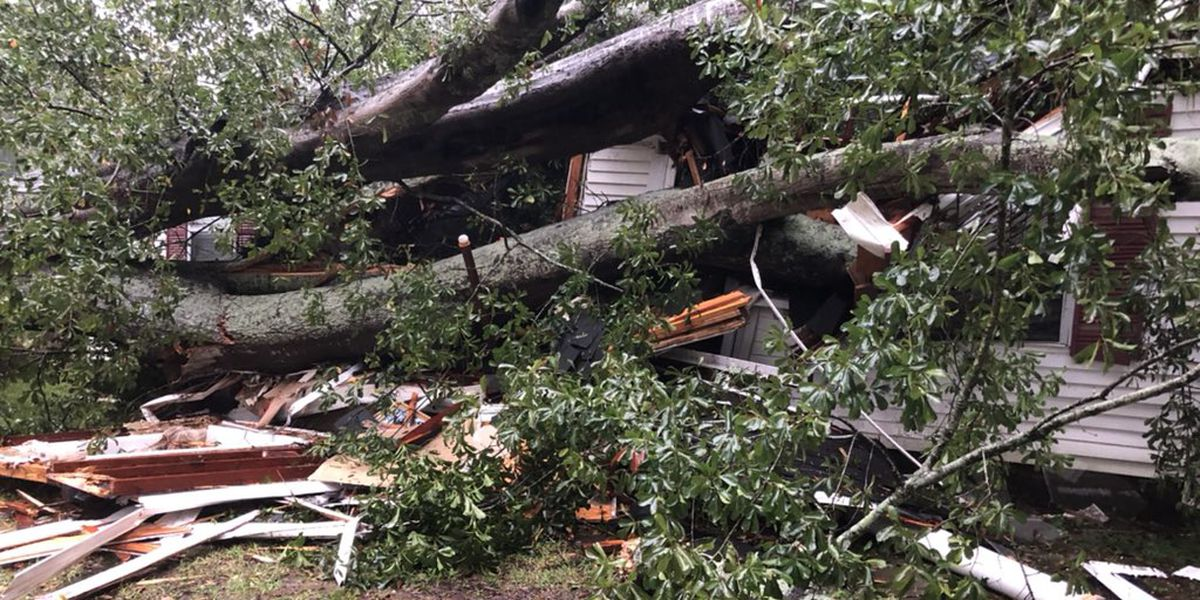MEMA: Several homes damaged, two injured due to Hurricane Delta