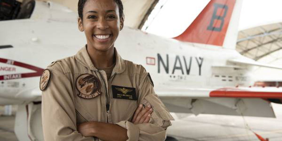 U.S. Navy's first Black female Tactical Air Pilot earns her wings