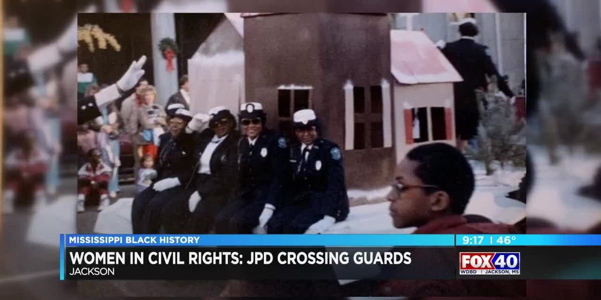 Women in Civil Rights: First black police officers with JPD