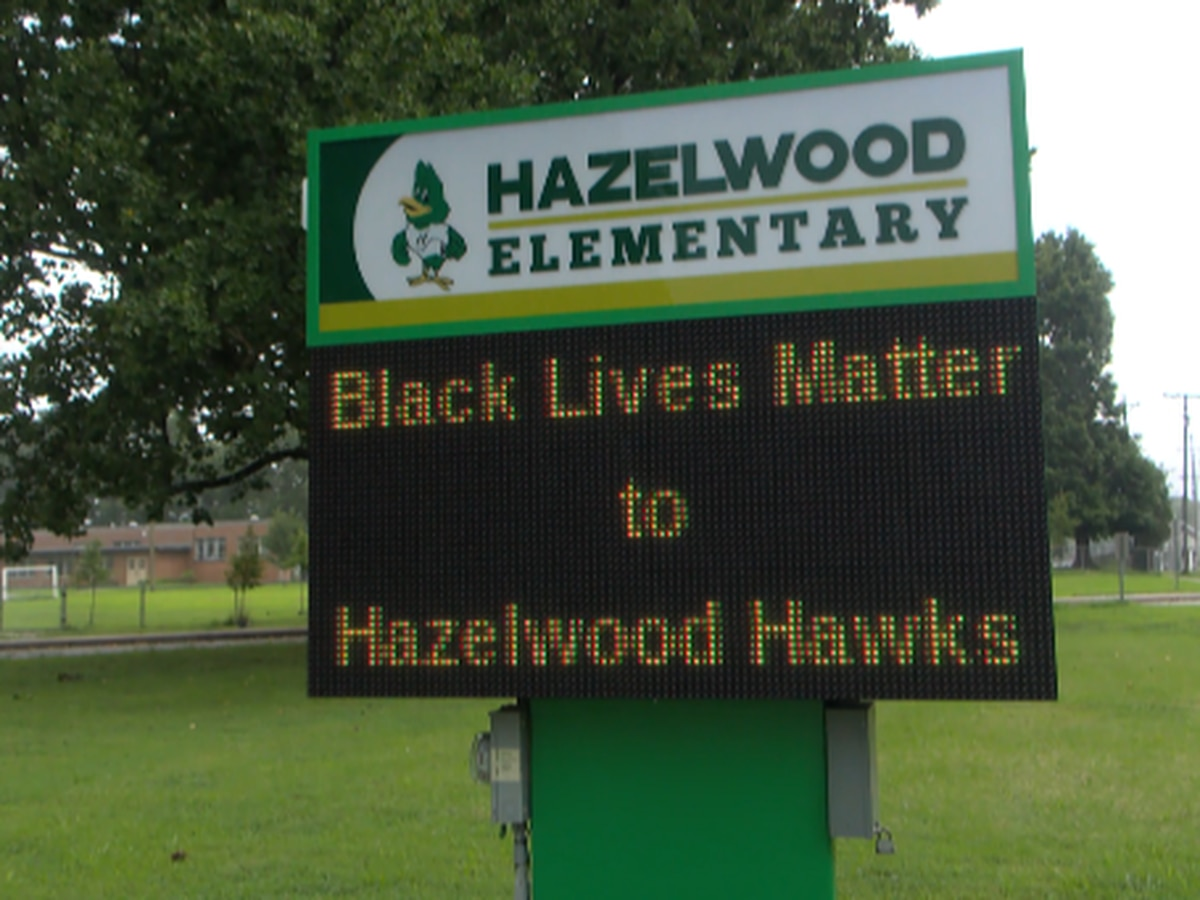 Grandmother of Kentucky students wants school to remove 'Black Lives Matter' from digital sign