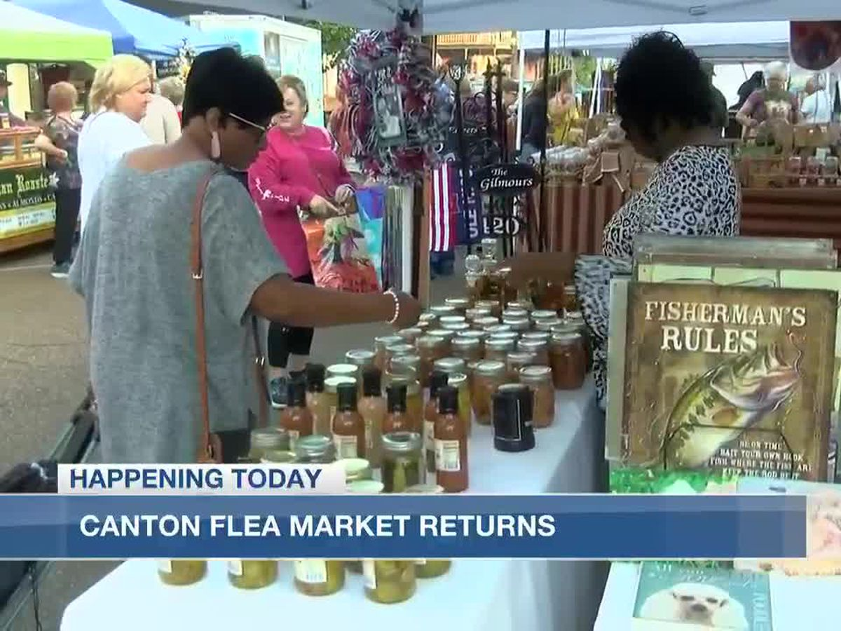57th biannual Canton Flea Market Arts and Craft Show kicks off