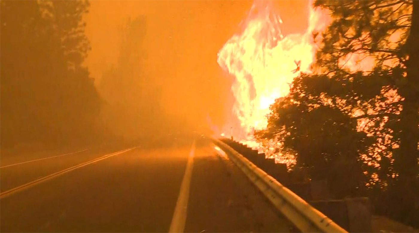 More evacuation orders and warnings were added in northern California after winds caused the Bear Fire to flare up Tuesday.