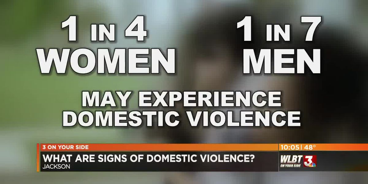 What are the signs of domestic violence?