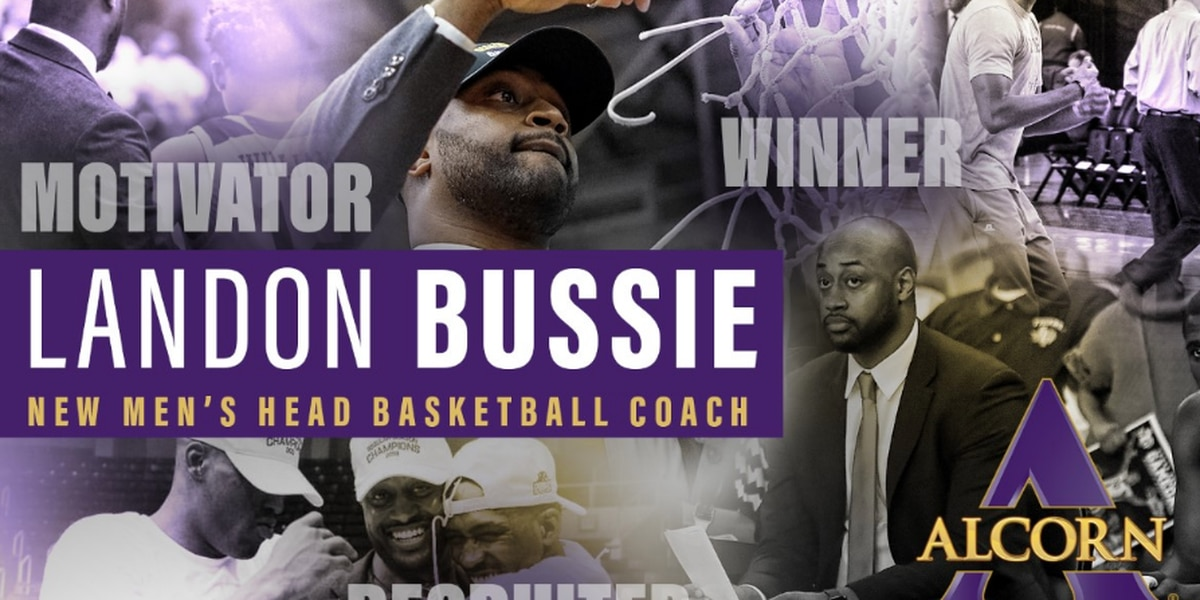 Alcorn State names Bussie as new men's basketball coach