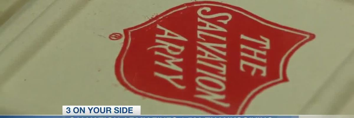Salvation Army fixes 1,500 Thanksgiving plates in two hours