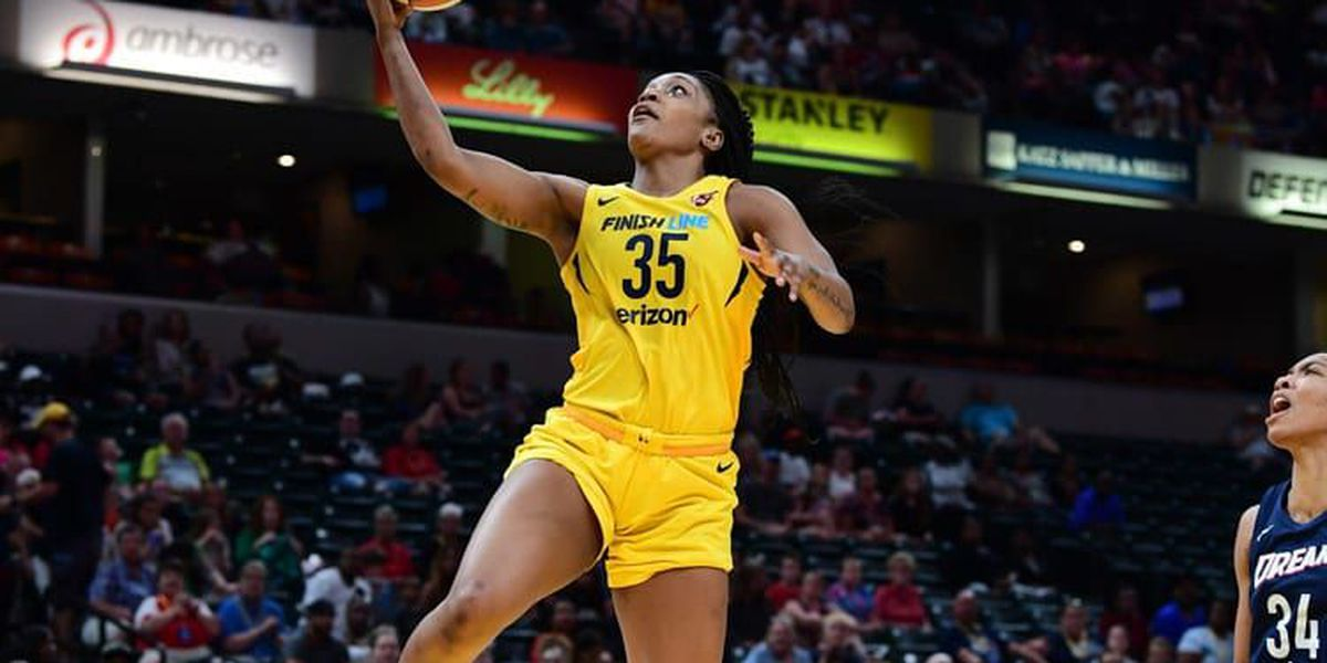 Victoria Vivians drops 25 points Wednesday in Fever loss