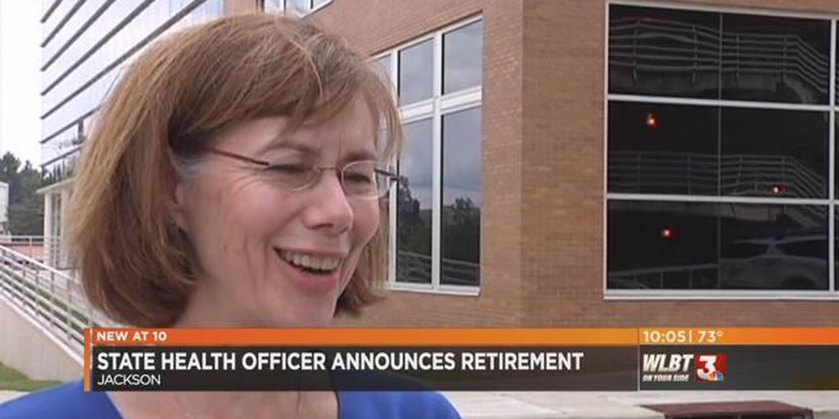 Dr. Mary Currier announces her retirement as State Health Officer