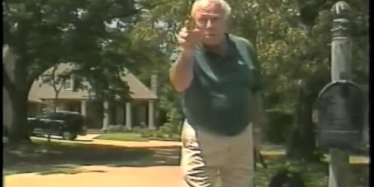 "FLASHBACK to JUNE 8, 1999: Governor Kirk Fordice tells WLBT's Bert Case, ""I'll whip your ass,"""
