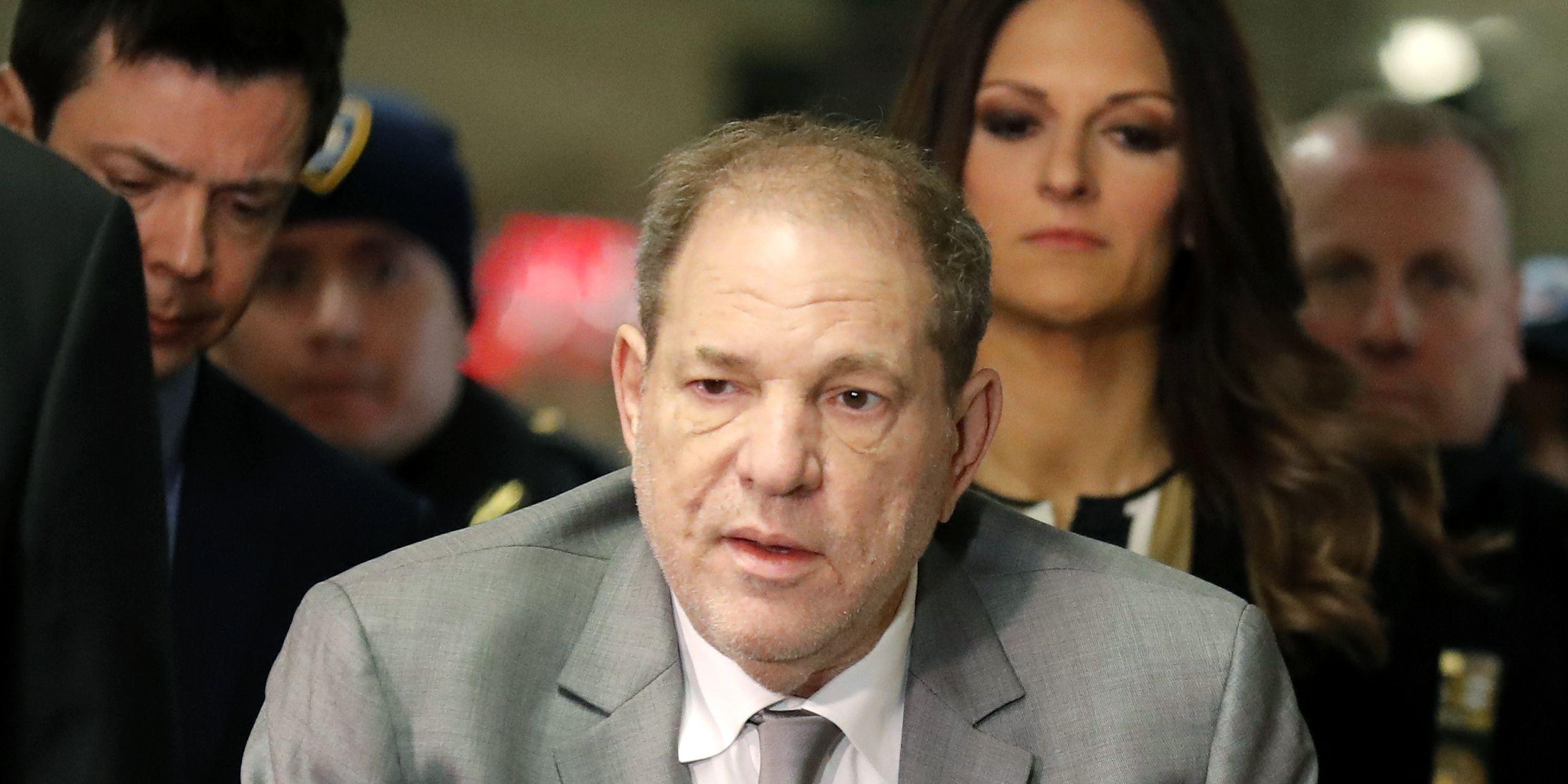 Weinstein rape trial opens, marking milestone for #MeToo